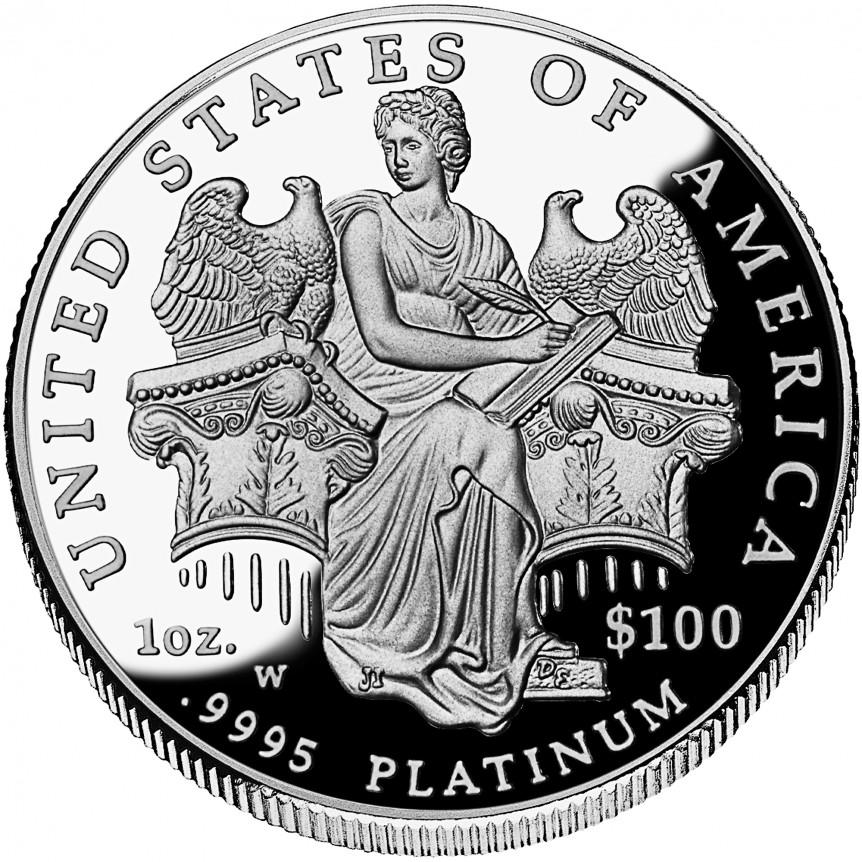 American_Platinum_Eagle_2006_Proof_Rev